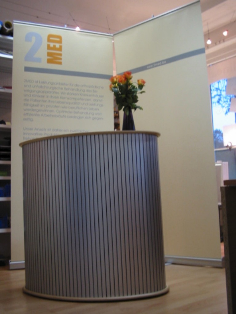 Messestand klein
