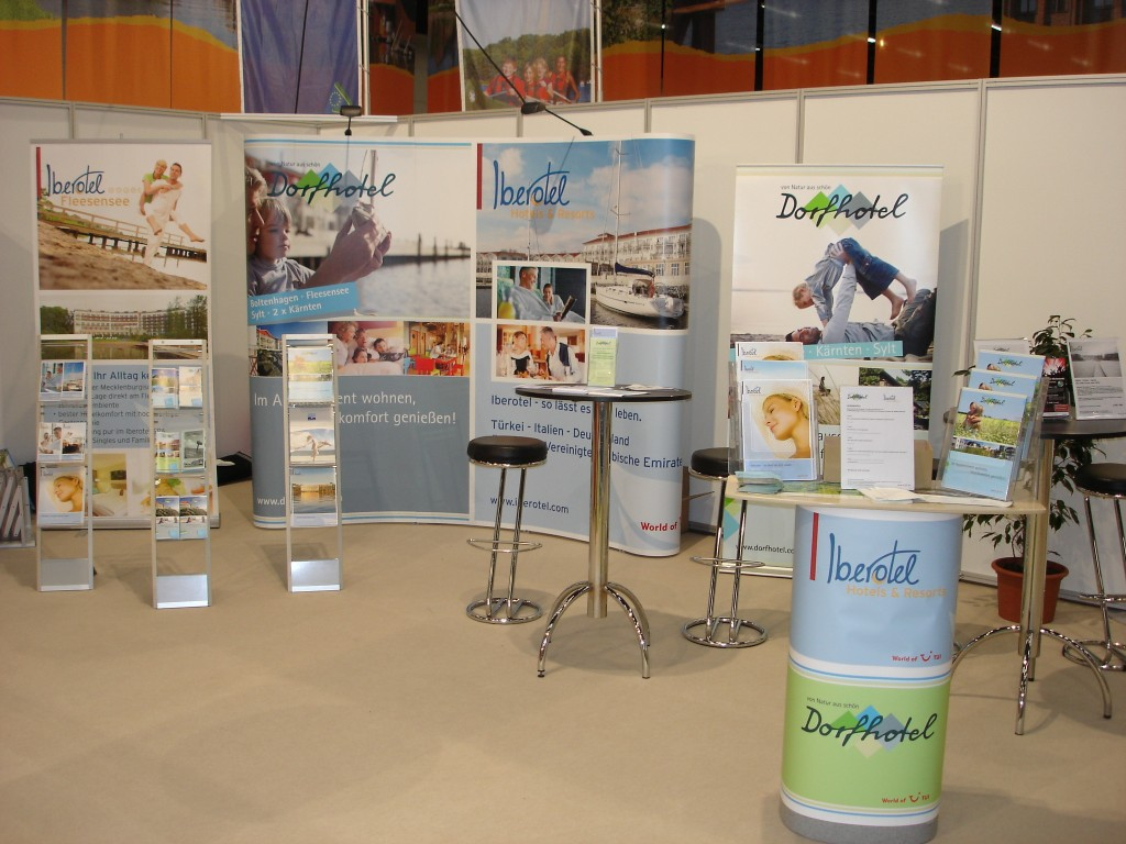 MKessestand Messewand