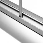 Rollup beidseitig-85cm Messe-Aufsteller-Chrom 1 Detailansicht