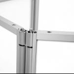 Aluminium Promotion-Theke Detailansicht