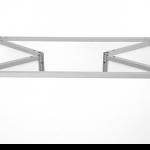 Aluminium Promotion-Theke Aufbau Detailansicht